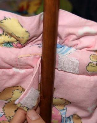 как сшить бортики в детскую кроватку